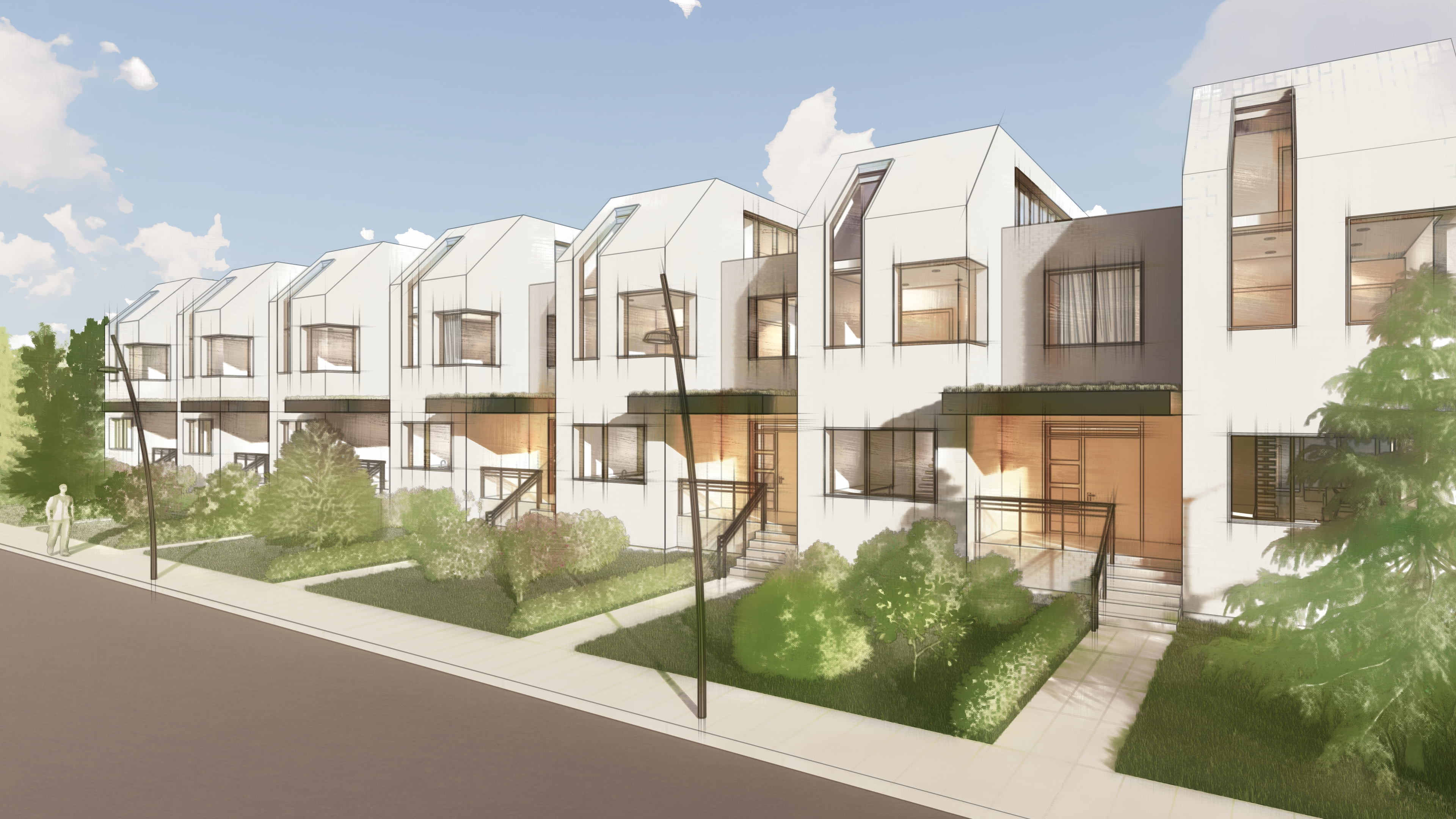 Townhomes in Toronto by ERS